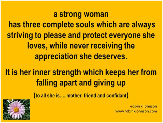 a strong woman has three complete souls